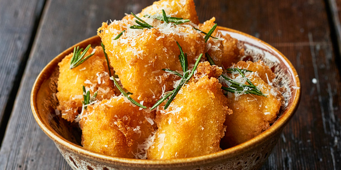 Polenta Chips from Jamie