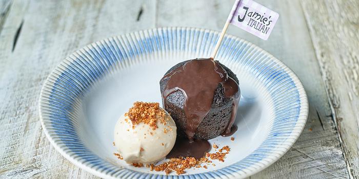Praline Pudding from Jamie