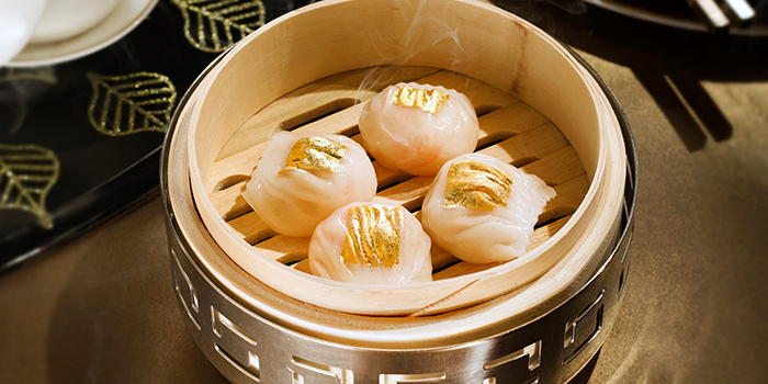 Prawn Dumplings, Golden Leaf, Admiralty, Hong Kong