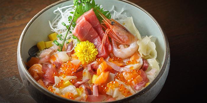 Premium MazeChirashi from Kushi Dining Bar in Paya Lebar, Singapore