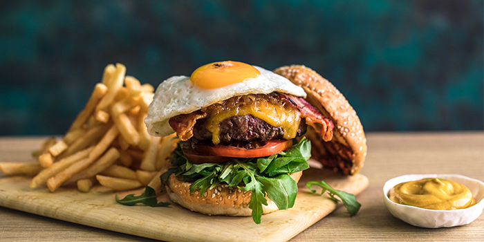 Prime Burger from Sky22 at Courtyard by Marriott Singapore Novena in Novena, Singapore
