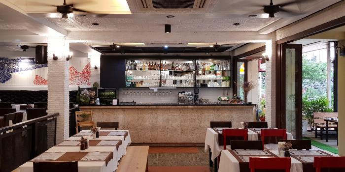 Restaurant Ambiance of Horn Grill in Kata, Phuket, Thailand