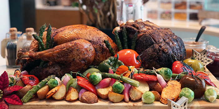 Festive Turkey & Prime Rib from Saltwater Cafe in Changi Village Hotel in Changi, Singapore