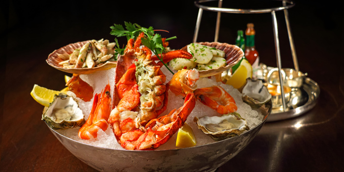 Seafood Platter from Tables Grill Restaurant at Grand Hyatt Erawan, Bangkok