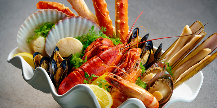 Seafood Platter, Lobster Bar and Grill, Admiralty, Hong Kong