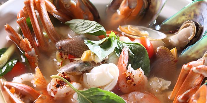 Spicy& Sour Seafood Soup, Wong Chun Chun Thai Restaurant, Jordan, Hong Kong