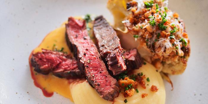 Steak from Bayswater Kitchen at Marina at Keppel Bay, Singapore