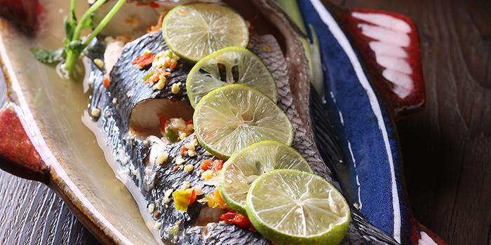 Steamed Fish with Soup Soup, Wong Chun Chun Thai Restaurant, Jordan, Hong Kong