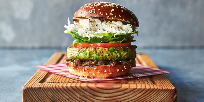 Super Green Veggie Burger from Jamie