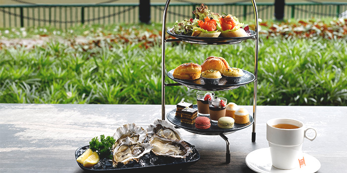 3-Tier Oyster Afternoon Tea from The Best Brew at Sheraton Singapore Riverview in Robertson Quay, Singapore