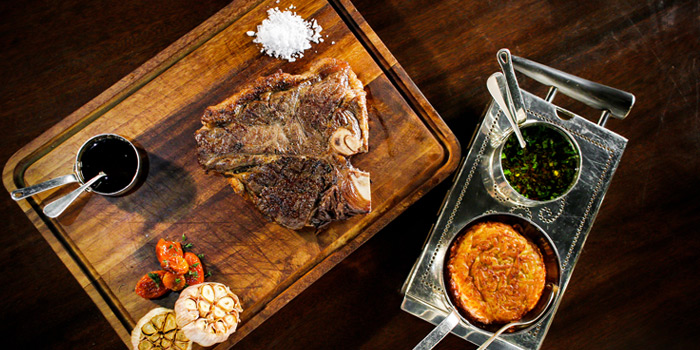 T-Bone Steak from Tables Grill Restaurant at Grand Hyatt Erawan, Bangkok