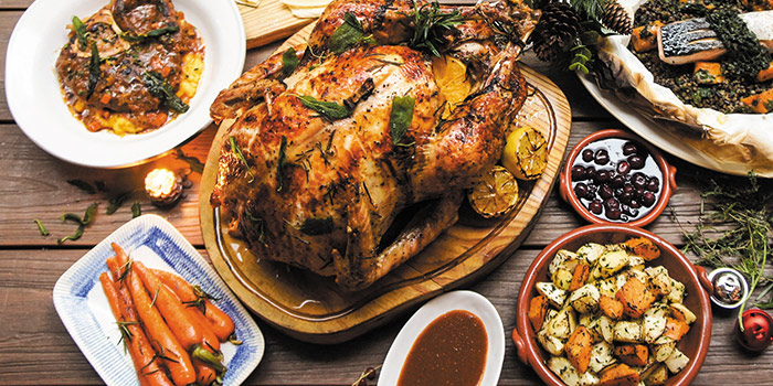 Thanksgiving Turkey Feast, Jamie's Italian, Tsim Sha Tsui, Hong Kong