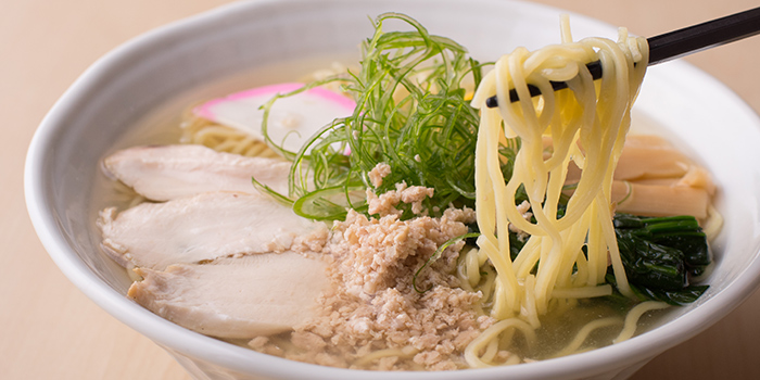 Tori Shio Ramen from Yamazaki Japanese Restaurant in One Fullerton in Raffles Place, Singapore