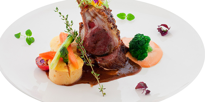 Truffle Lamb from Lawry