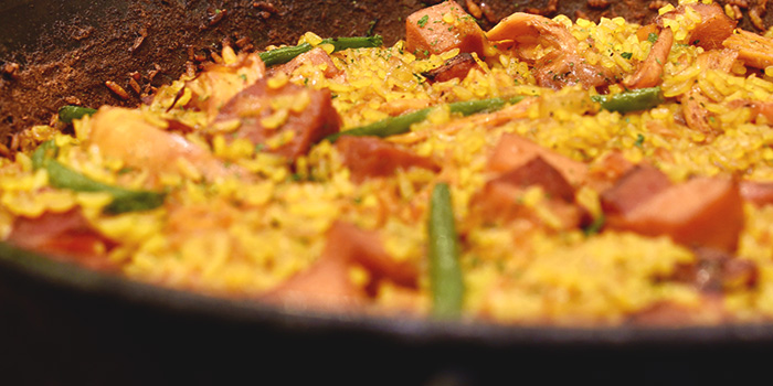 Turkey and Ham Paella from Don Quijote in Dempsey, Singapore