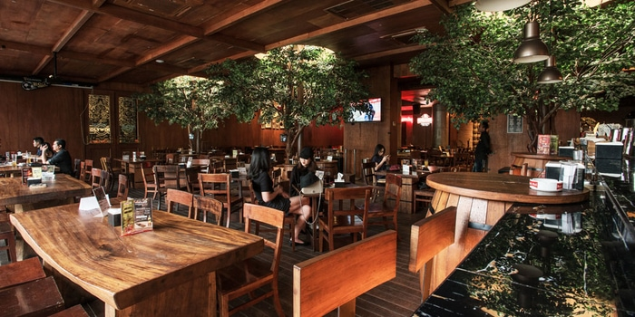 Interior 1 at Holywings, Pantai Indah Kapuk