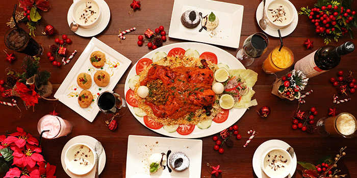 Christmas Set Meal for 4 (10-31 Dec) from Zaffron Kitchen (East Coast) in East Coast, Singapore