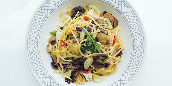 Mushroom Spaghetti from GONG at Bugis, Singapore