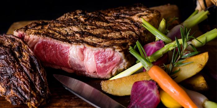 Dry Aged Australian Steak from Scarlett Wine Bar & Restaurant at Pullman Bangkok Hotel G 37th Floor, 188 Silom Rd, Bangrak, Bangkok