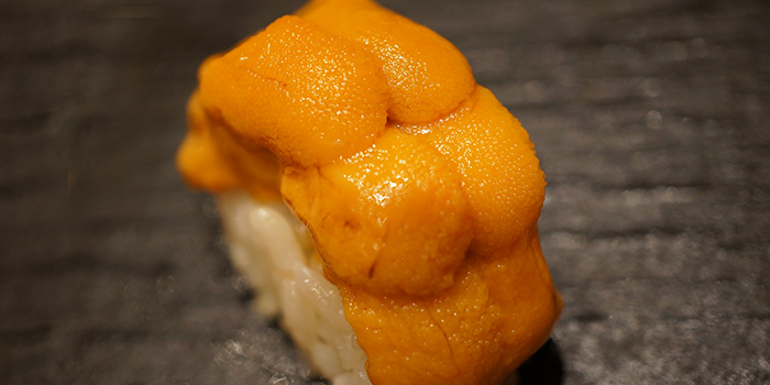 Fresh Uni Sushi from Ashino at CHIJMES in City Hall, Singapore