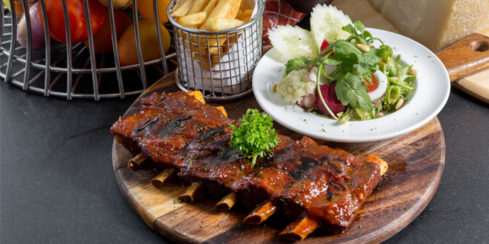 BBQ Spare Ribs from BYD Bar & Bistro in Patong, Phuket, Thailand