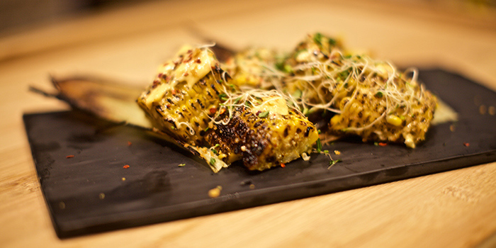 Grilled Corn from Blu Meze in Dempsey, Singapore