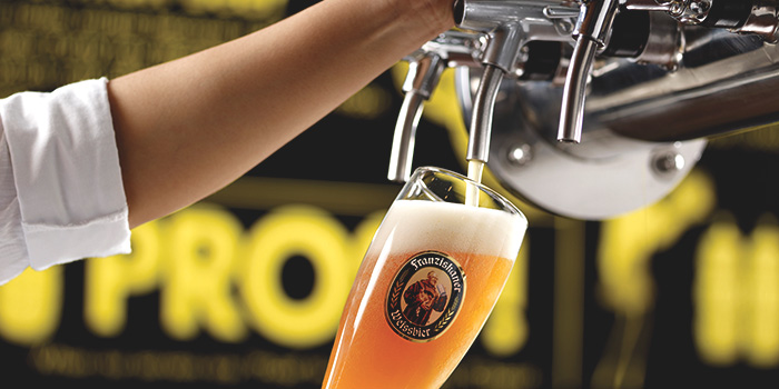 Draft Beer from Brotzeit (Westgate) in Jurong, Singapore