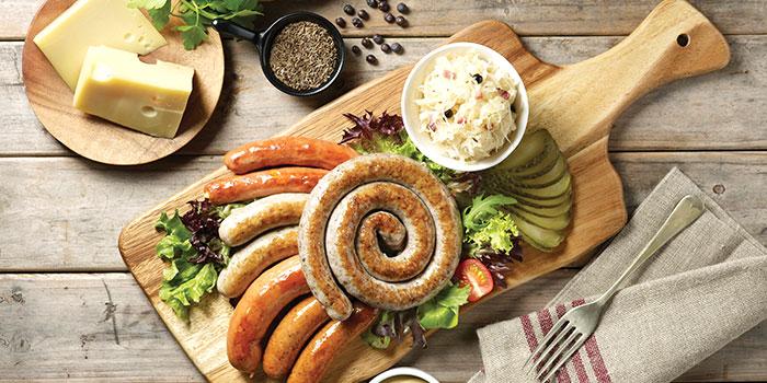 Sausage Platter from Brotzeit (VivoCity) in Harbourfront, Singapore