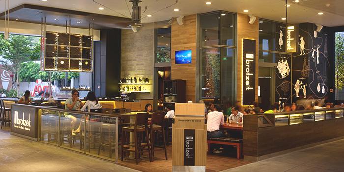 Interior of Brotzeit (Westgate) in Jurong, Singapore