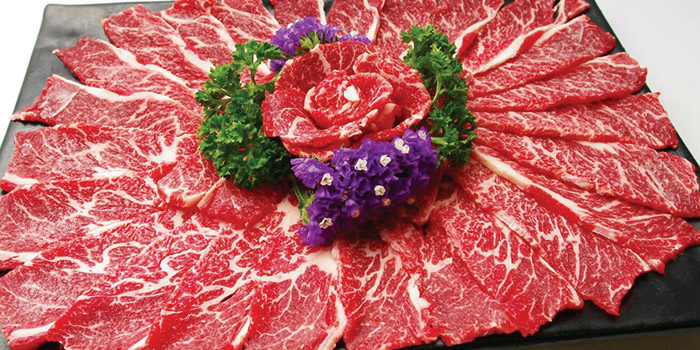 Beef, Seansin Seafood Hotpot Experts, Jordan, Hong Kong