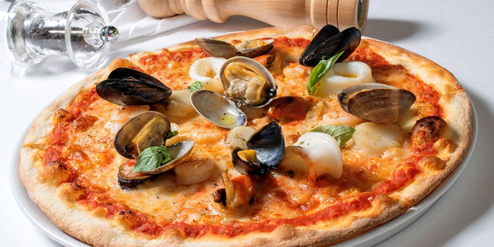 Seafood Pizza from Giorgio