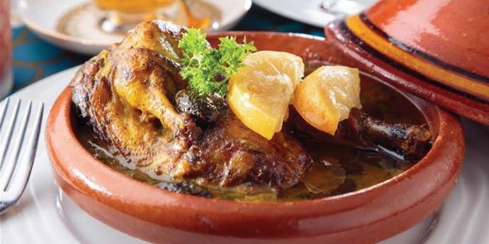 Chicken Tagine, Casablanca Restaurant & Cafe, Tsim Sha Tsui, Hong Kong