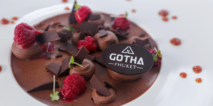 Chocolate-mousse from GOTHA Phuket in Patong, Phuket, Thailand