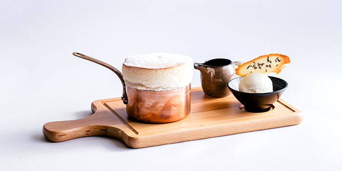 Cloud Nine Souffle from Typhoon Cafe at Plaza Singapura in Dhoby Ghaut, Singapore