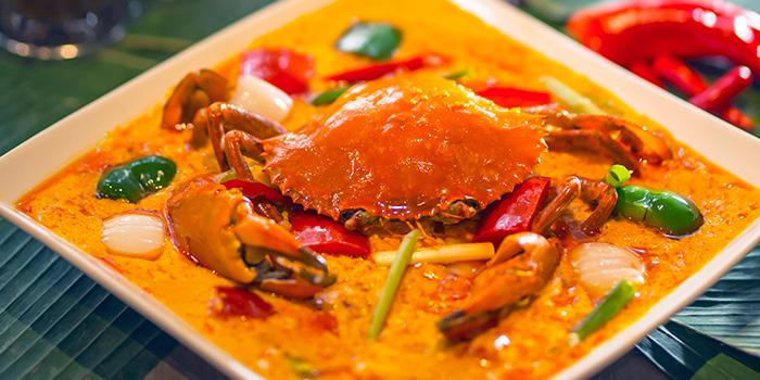 Crab, Cafe Siam, Central, Hong Kong