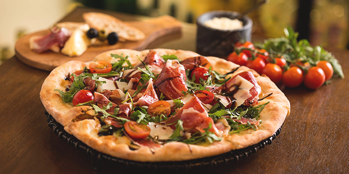 Parma Pizza from Drinks & Co Bar in Club Street, Singapore