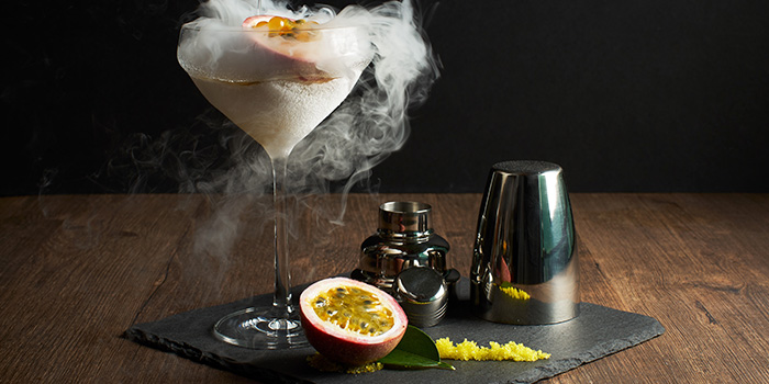 Nitro Frost from Dusk Restaurant & Bar at Mount Faber in Habourfront, Singapore