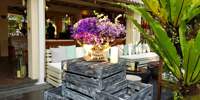 Ambience from French St. at O.P.Garden Soi Charoenkrung 36 Charoenkrung Road Bangrak, Bangkok