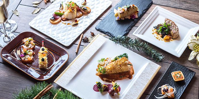 Festive Food Spread (11-23 Dec) from 1919 Waterboat House at The Waterboathouse in Fullerton, Singapore
