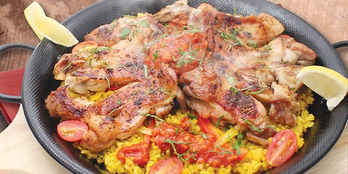 Grilled Whole Chicken Thigh Paella, PASTAHOLIC, Mong Kok, Hong Kong