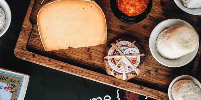 Cheese Selection from Scarlett Wine Bar & Restaurant at Pullman Bangkok Hotel G 37th Floor, 188 Silom Rd, Bangrak, Bangkok