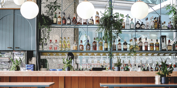 Bar of Privé Orchard in Orchard Road, Singapore