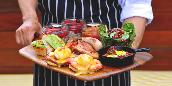 Ultimate Breakfast Platter from Privé Orchard in Orchard Road, Singapore