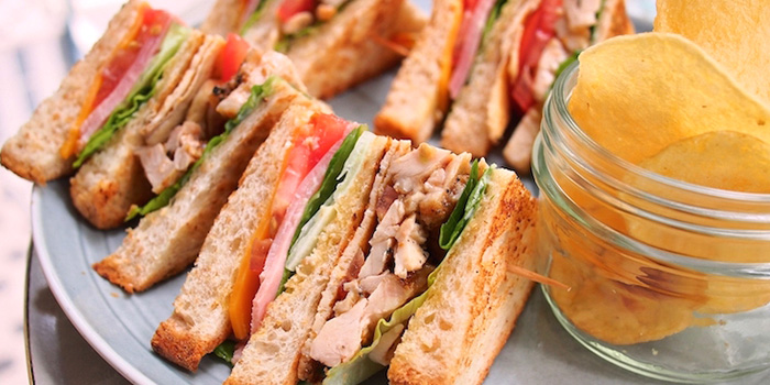 Wholemeal Club Sandwich from Privé Orchard in Orchard Road, Singapore