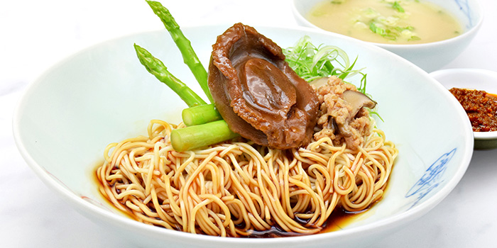 Kippin Crown Abalone La Mian from Orient Palace 禧家 at Furama Riverfront Annex Building in Outram, Singapore