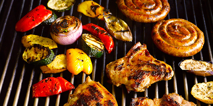 Mixed Grill from Oasis Restaurant in Grand Hyatt Singapore in Orchard, Singapore