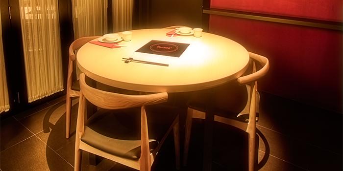 Private Room of Tang Restaurant and Bar in Keong Saik Road, Singapore