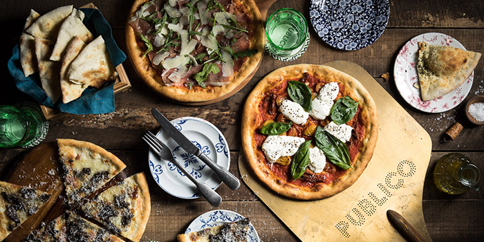 Signature Pizzas from Publico Ristorante at InterContinental Singapore Robertson Quay in Robertson Quay, Singapore