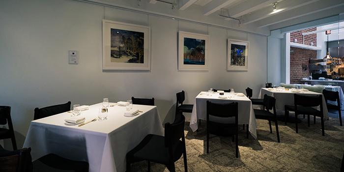 Interior of Restaurant Ards in Duxton, Singapore