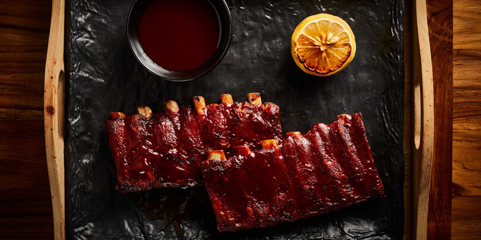 Slow Cooked BBQ Pork Ribs from Beer Republic at 971 Phloen Chit Rd, Lumphini Pathumwan, Bangkok